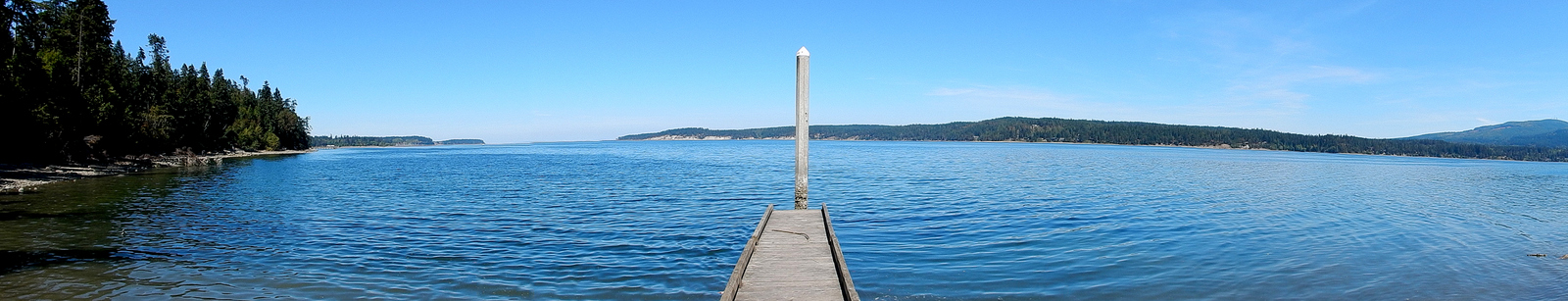 Sequim Bay State Park boat launch dock