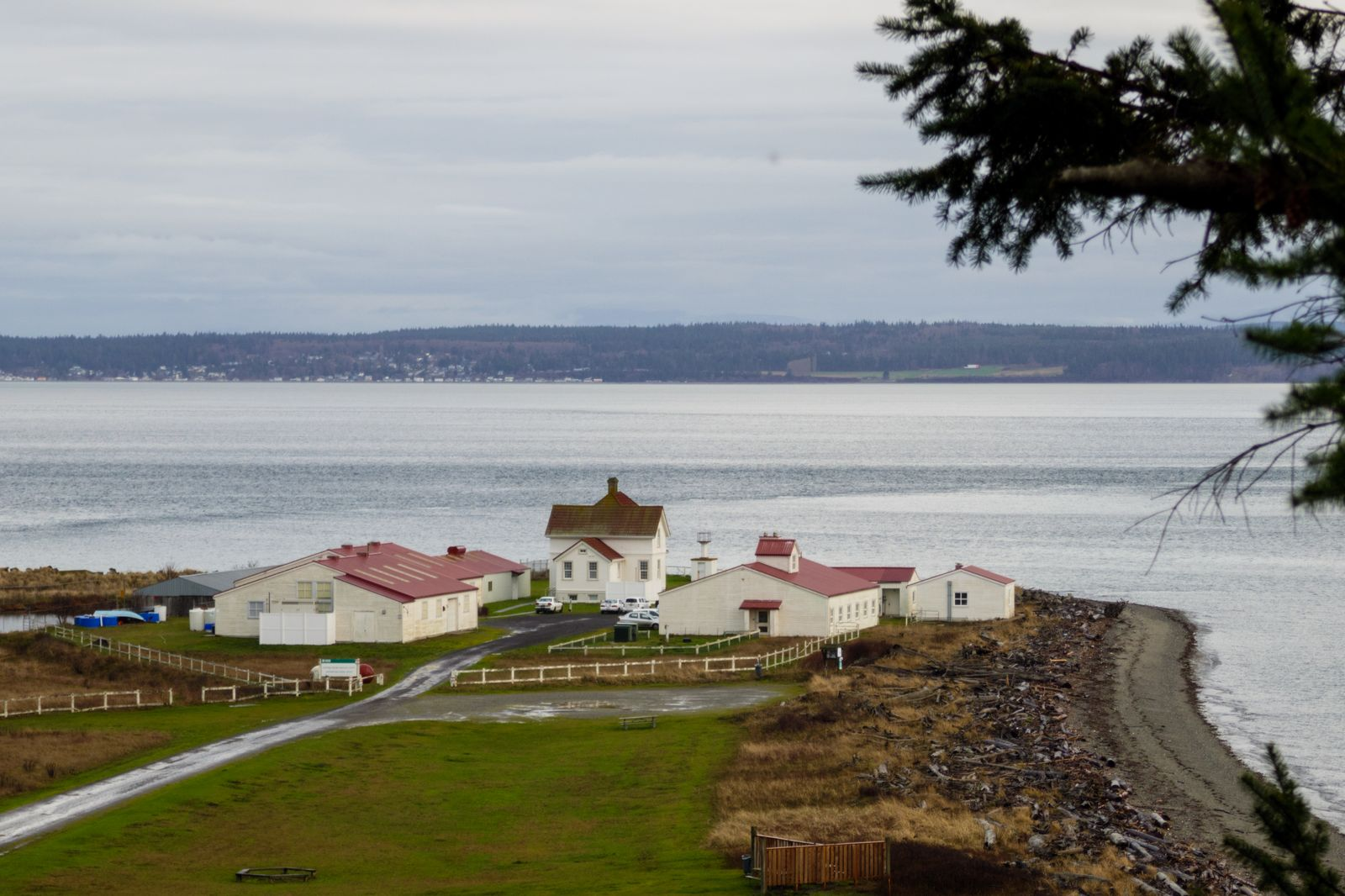 Are we looking for the USGS Marrowstone Marine Field Station? No!