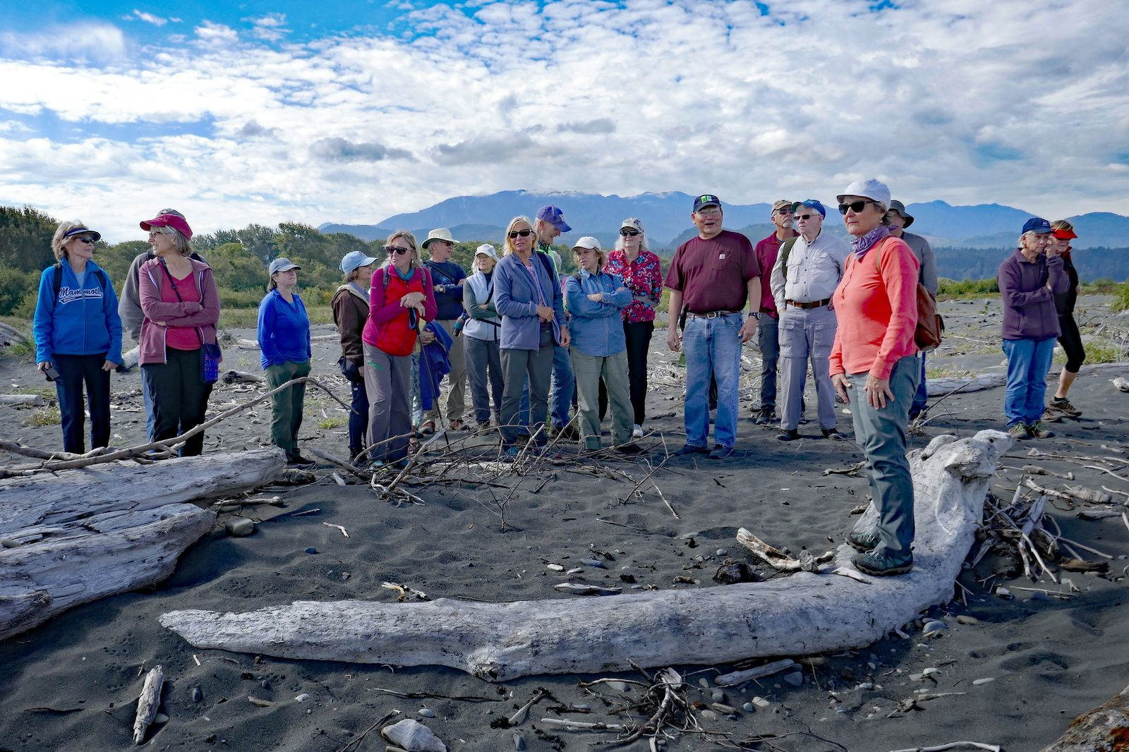 Our guide Robert provides more info on the Elwha River restoration