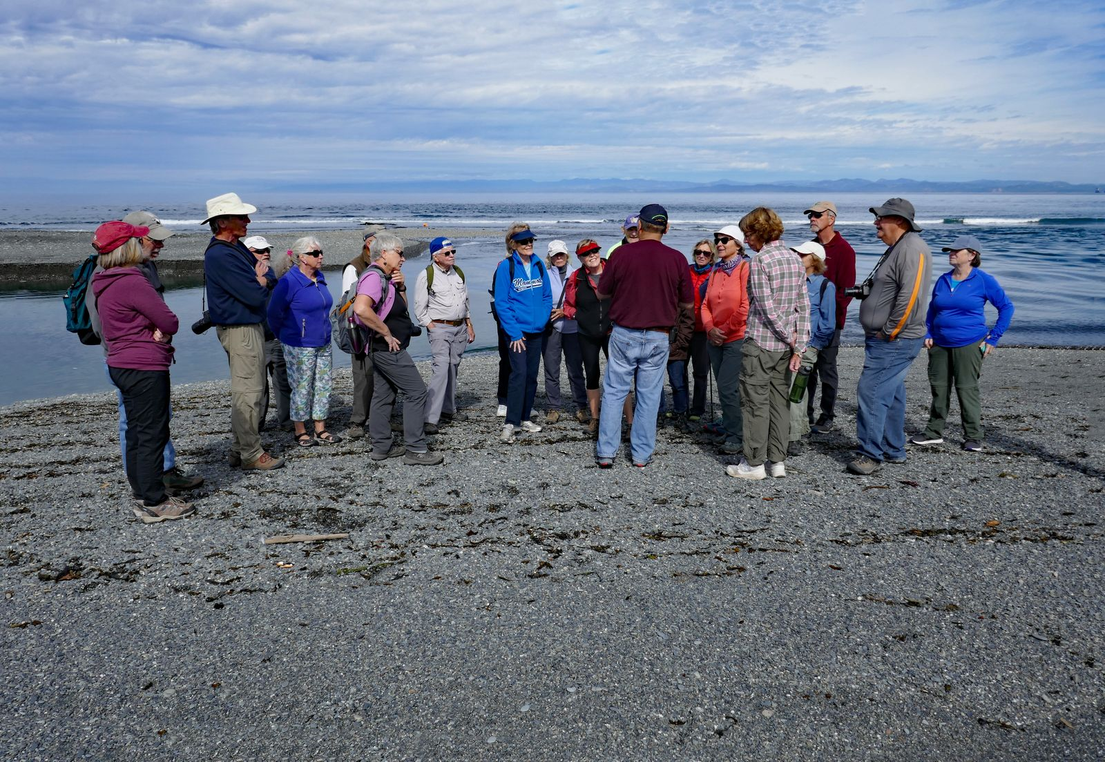 Robert explains how Salmon can now migrate up the Elwha