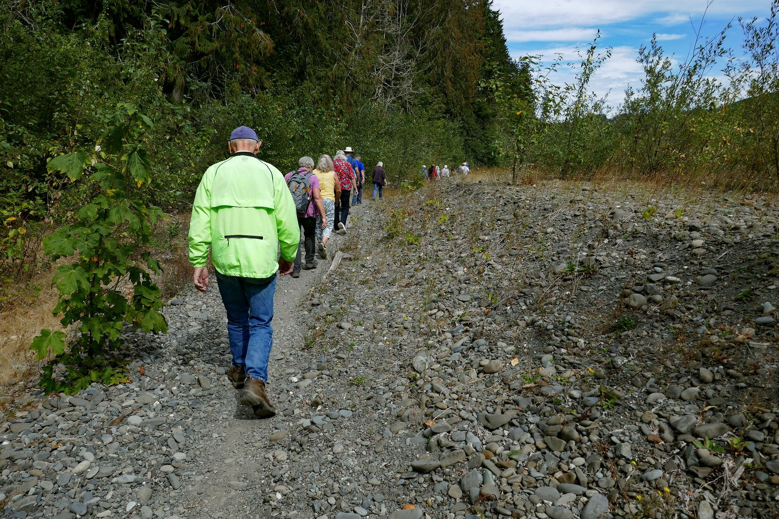 We head off to find the Elwha before it reaches the sea