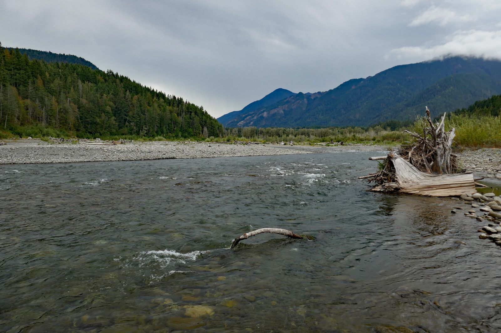 The Elwha River valley