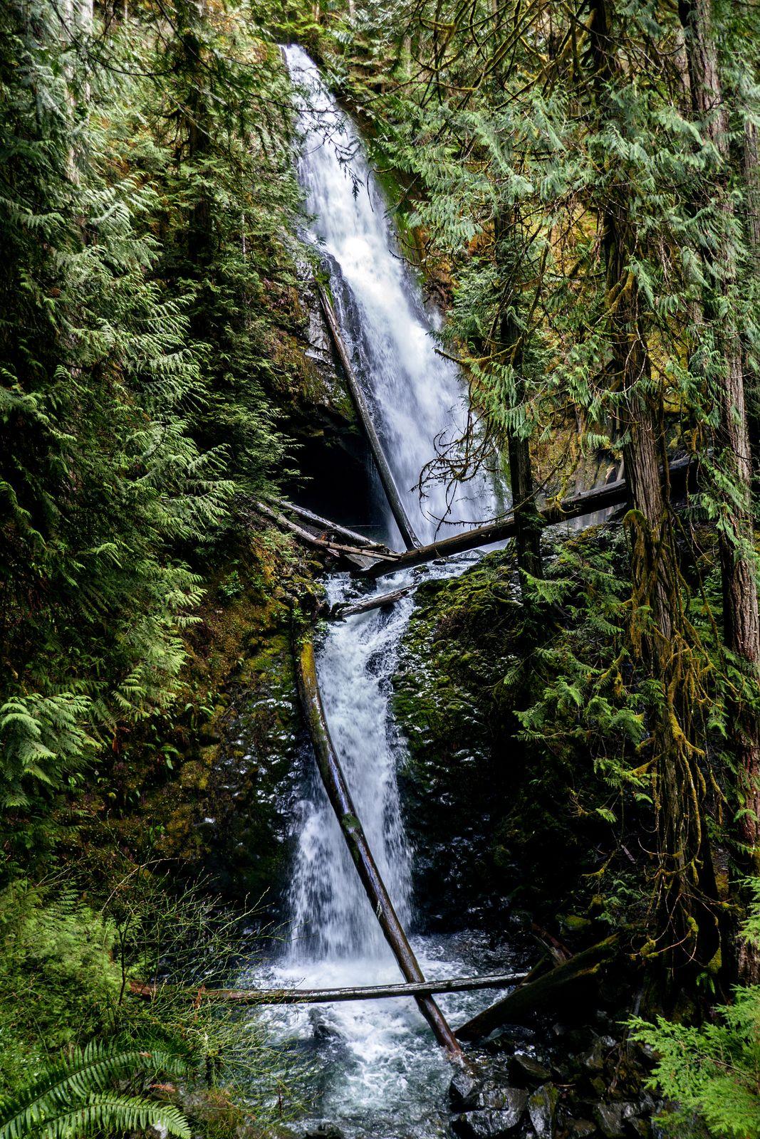 130 foot Murhut Falls