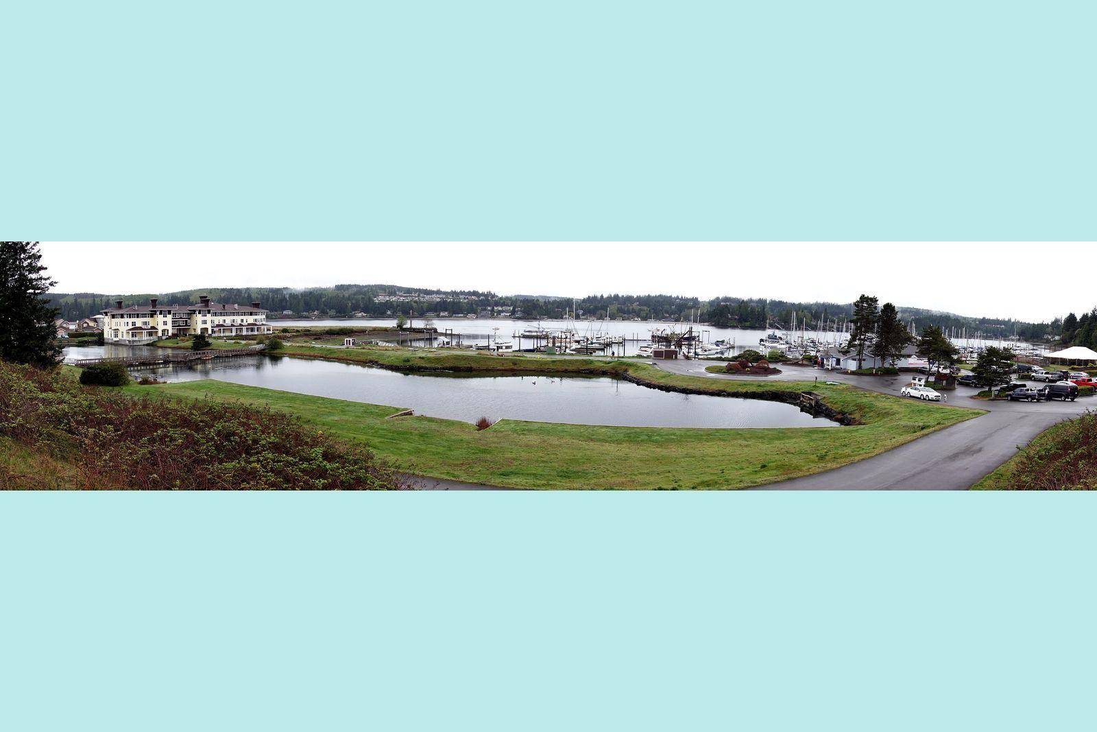 Port Ludlow Inn and marina
