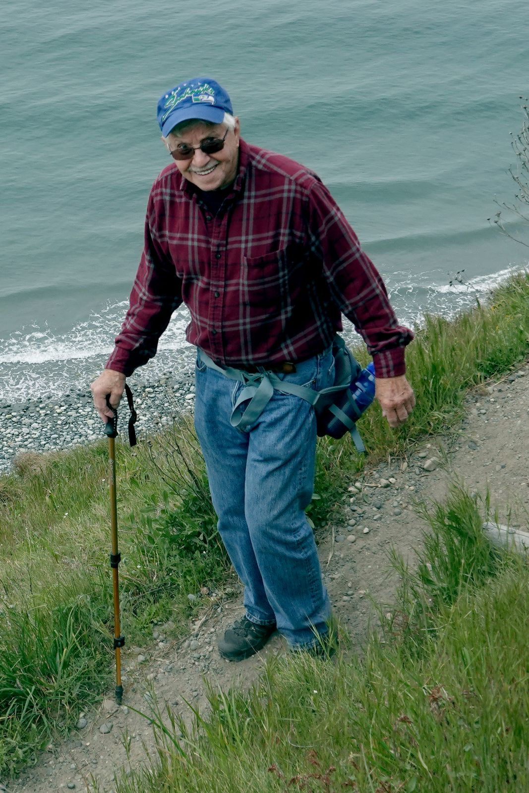 At 85 Bill is our senior hiker