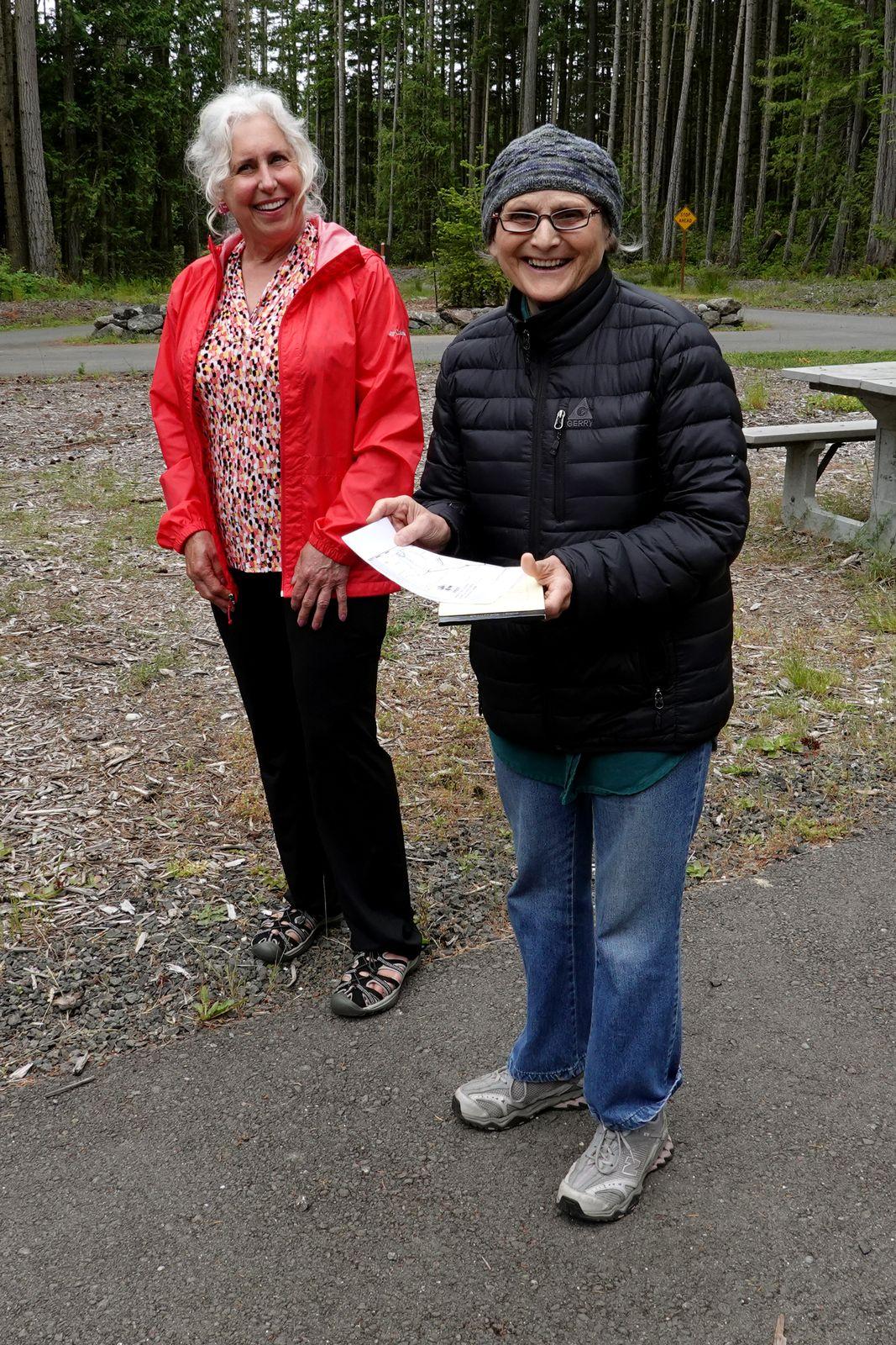 Darlene our Miller Peninsula State Park expert