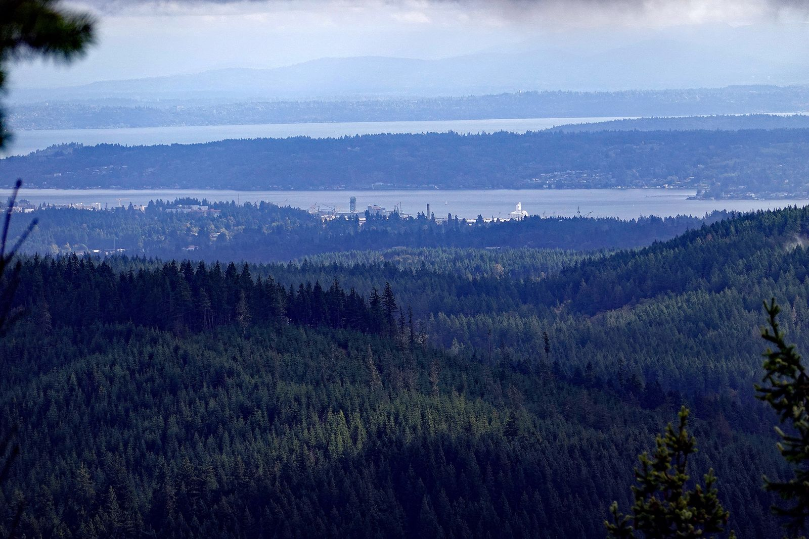 The view towards Bremerton