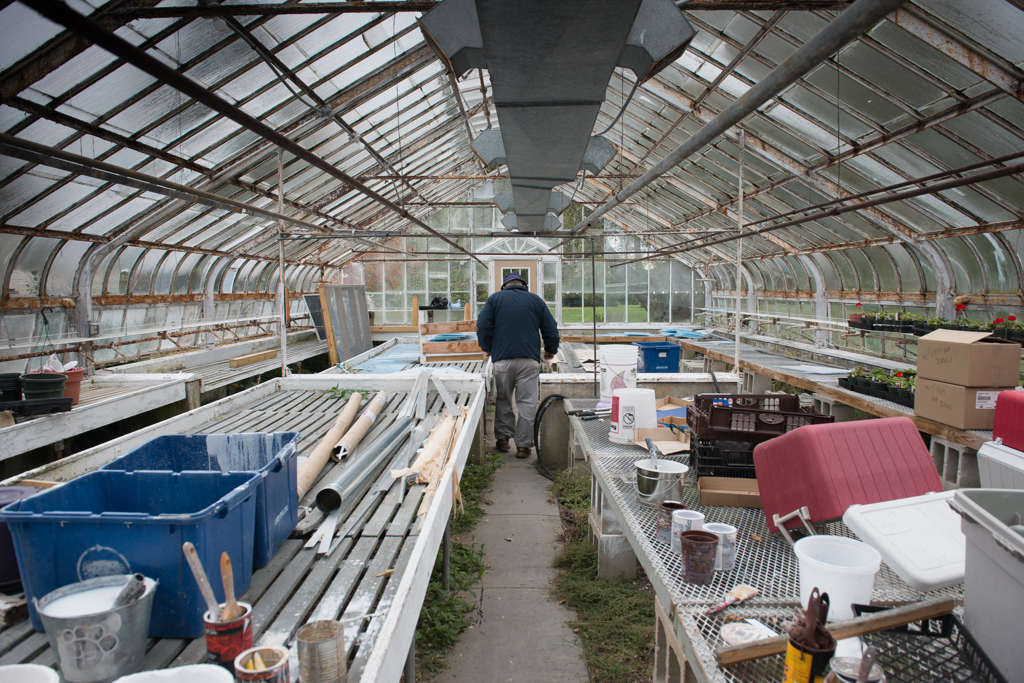 Don and the Endicott Greenhouse Project