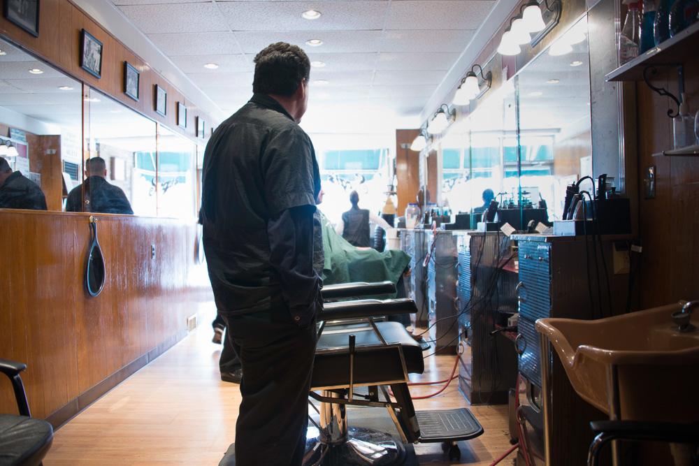 Jimmy, Sergi's Barbershop - Dedham, MA