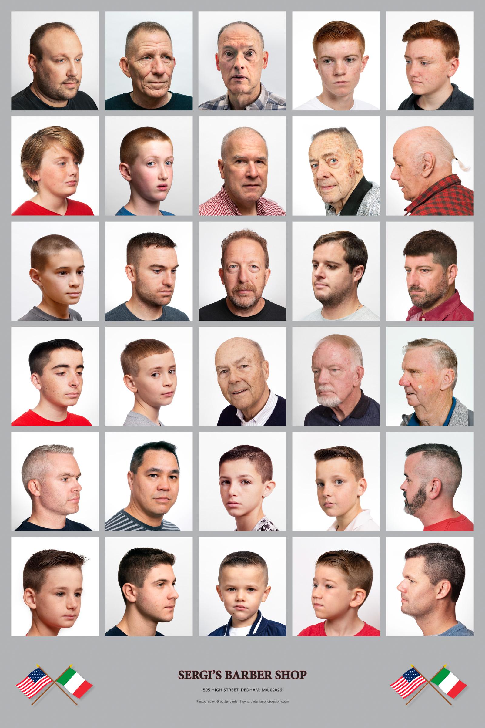 Sergi's Barbershop, Dedham, MA
