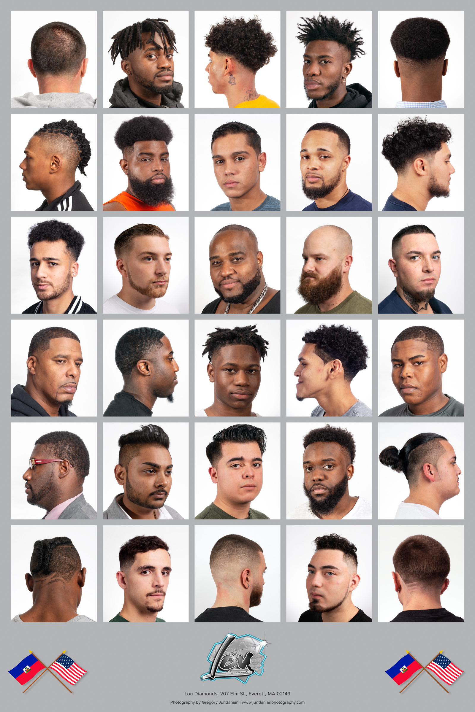 Lou Diamonds' Barbershop, Everett, MA