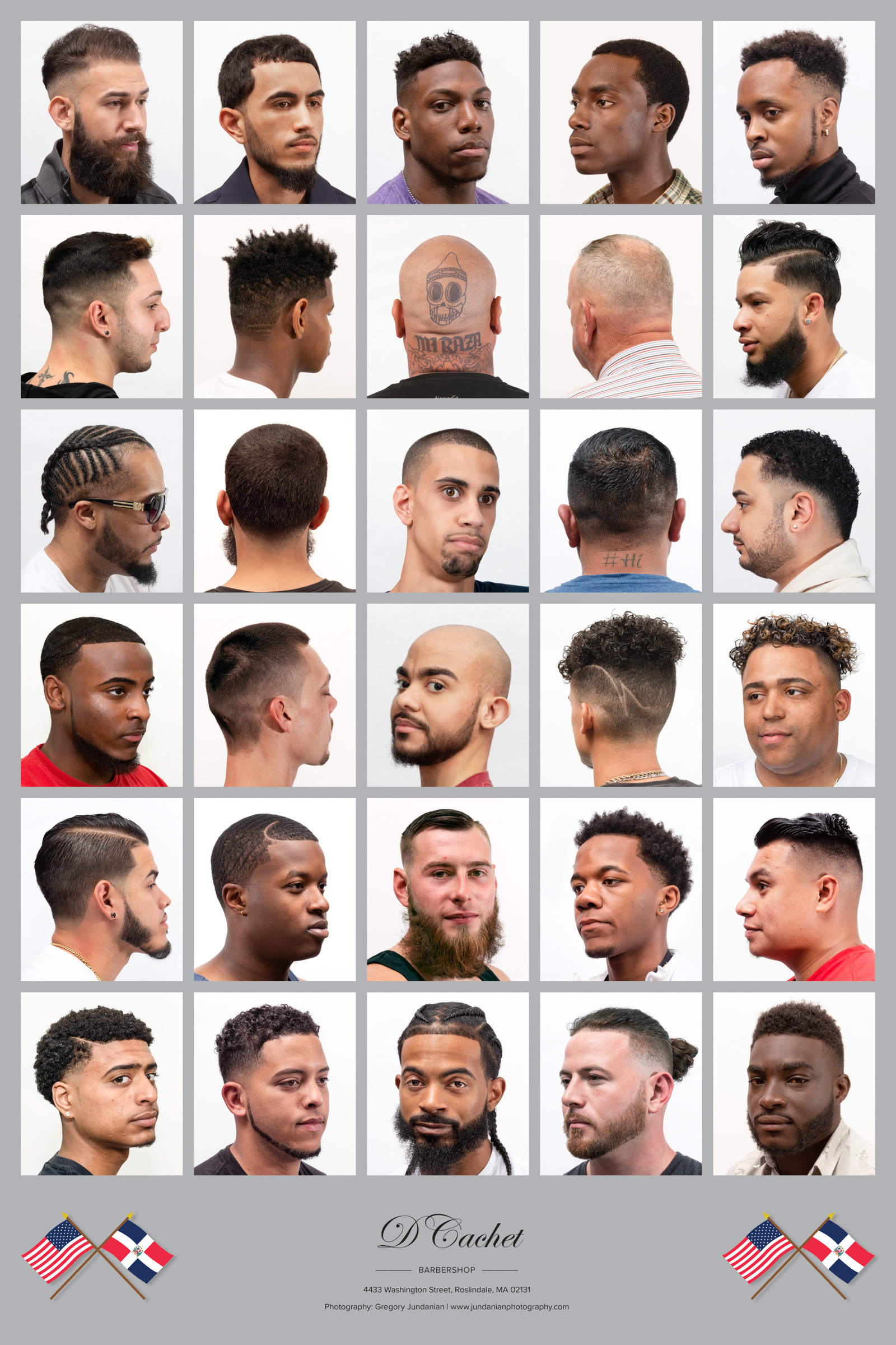 D'Cachet Barbershop, Roslindale, MA
