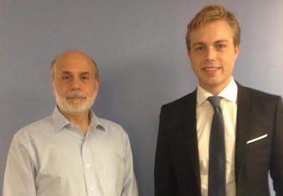 With Ben Bernanke