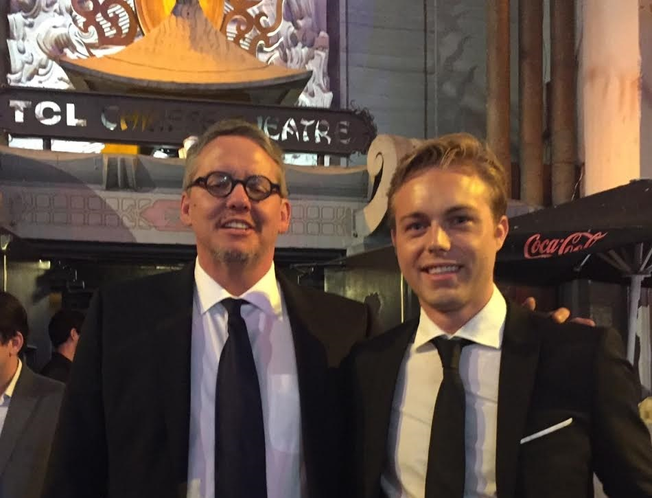 "With Director Adam McKay at the World Premiere of ""The Big Short"""