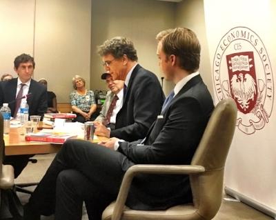 "IMF Panel on ""Chicagonomics"" with Lanny Ebenstein, David Mitch and Pedro Da Costa"