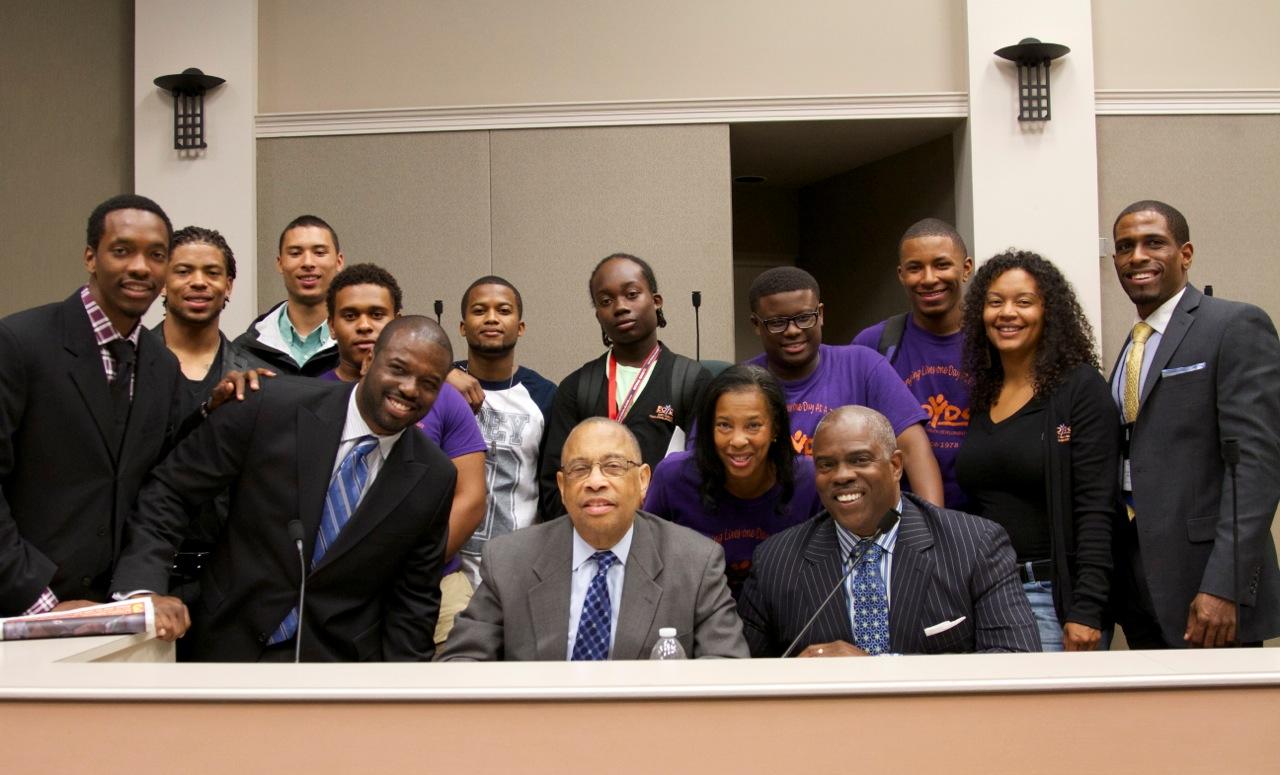 Professor Mark T. Harris, Esq.; The Honorable Mayor Elihu M. Harris, Esq.; Eric M. Harris J.D.; Chet McGensy, Esq.; Asa Jackson; Martin T. Harris; East Oakland Youth Development Center