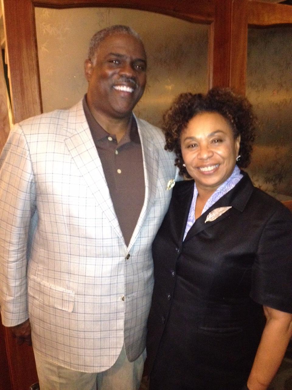 Professor Mark T. Harris, Esq. with the Honorable United States Reprasenative Barbara Lee