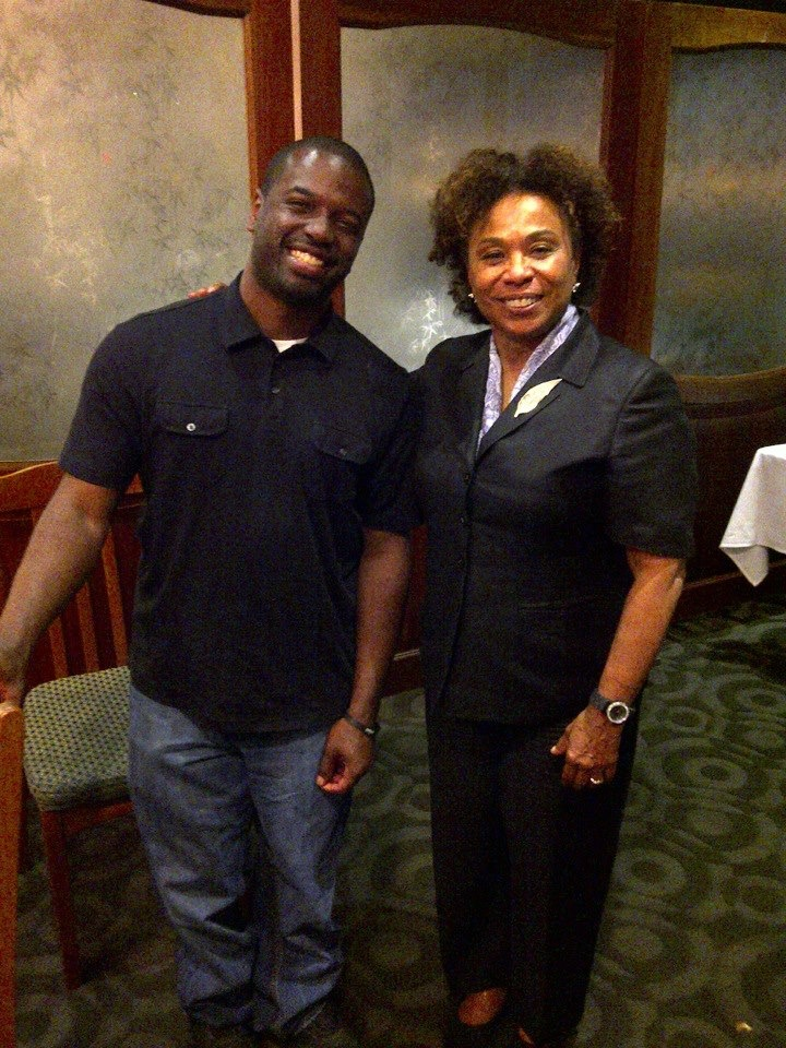 Eric M. Harris, J.D. with The Honorable Congresswoman Barbara Lee