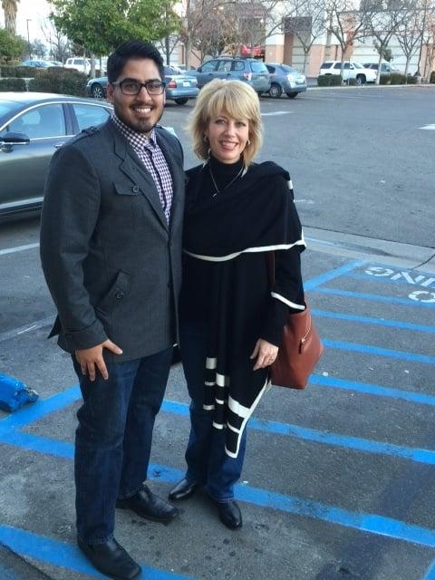 Fresno Native Sukhman Sekhon with the Honorable Mayor Ashley Swearengin