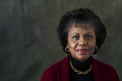 Anita Hill was cast under the microscope during the confirmation hearings for Supreme Court Justice Clarence Thomas.  The Associated Press