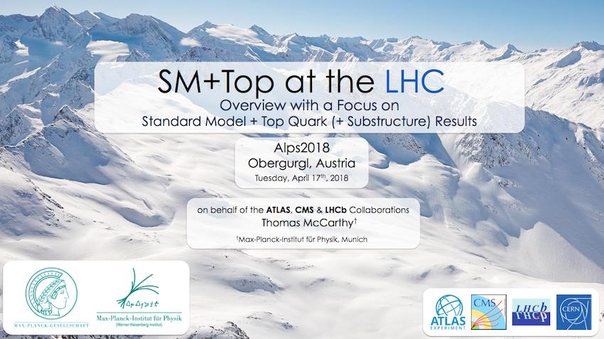 Alpine LHC Physics Summit, April 2018