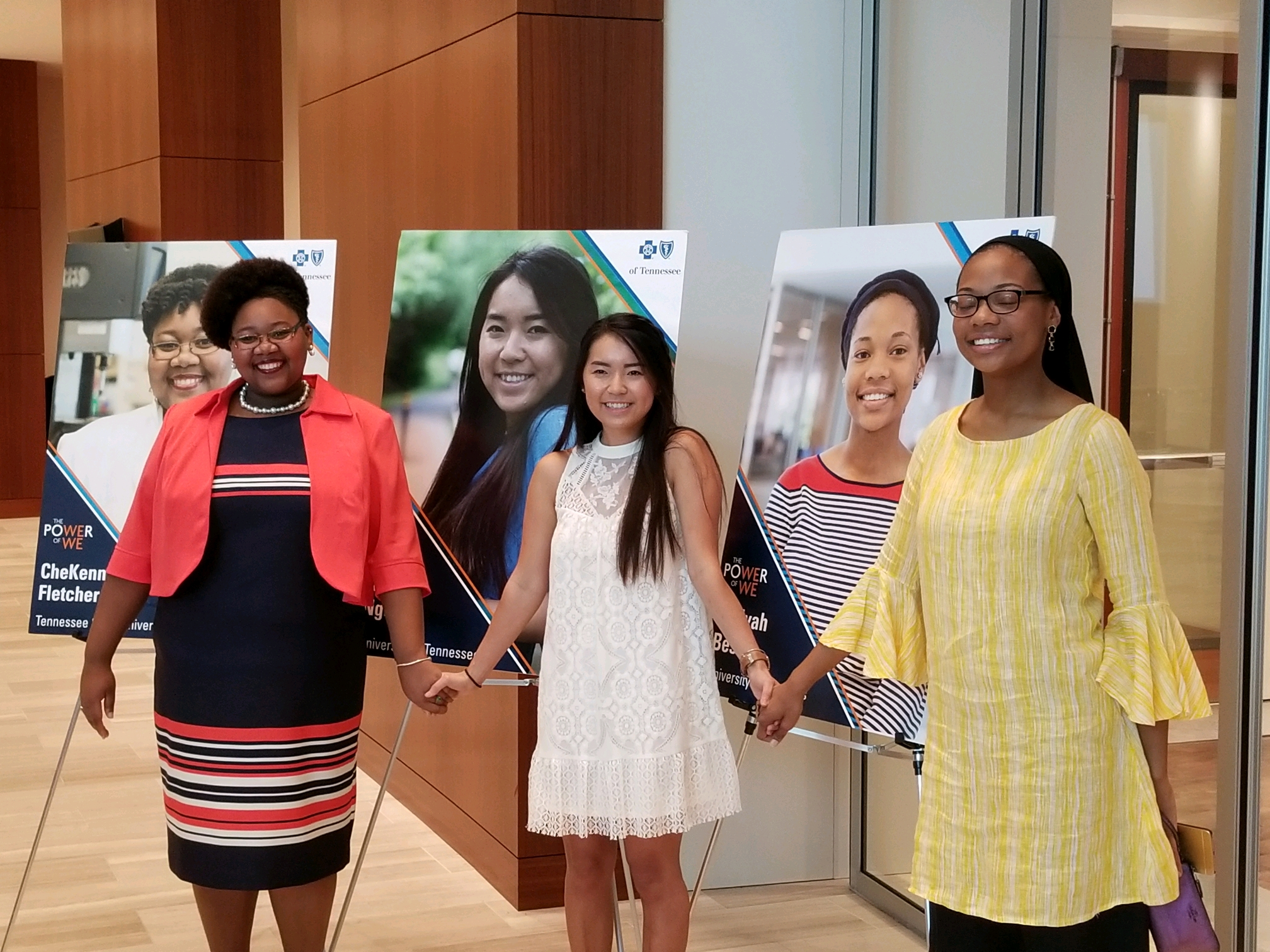 Pictured above are the 2017 Diversity Scholarship recipients representing the West, Middle, and East regions of Tennessee.
