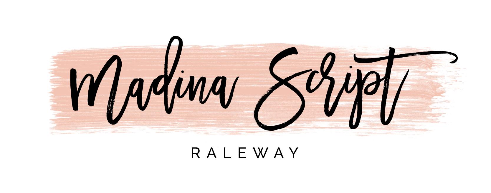 Madina Script – Top Brush Fonts and Font Pairings
