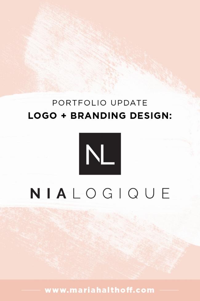 Logo and branding portfolio update – Nialogique