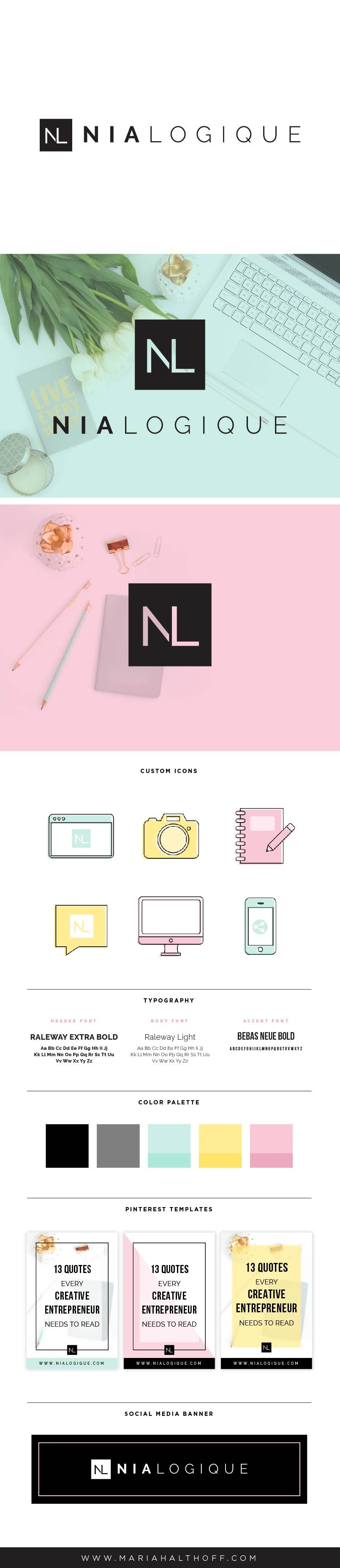 Logo and brand design – Nialogique