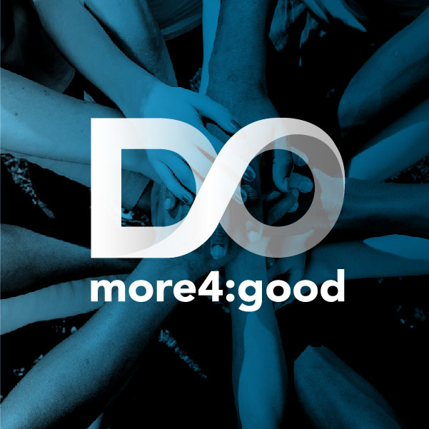 Do More 4:Good<strong>Logo, Brand and Print Design</strong>