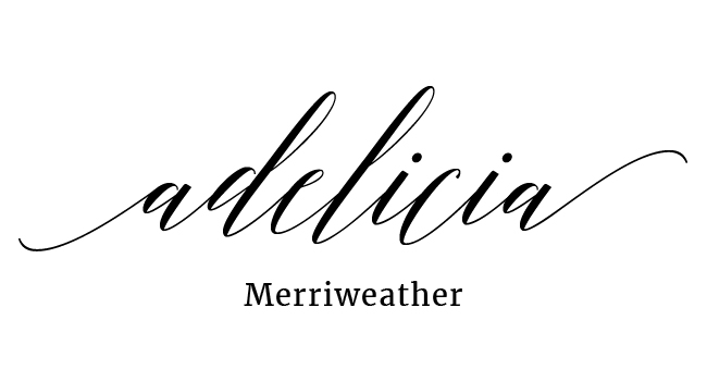 Adelicia Calligraphy Font Pairing