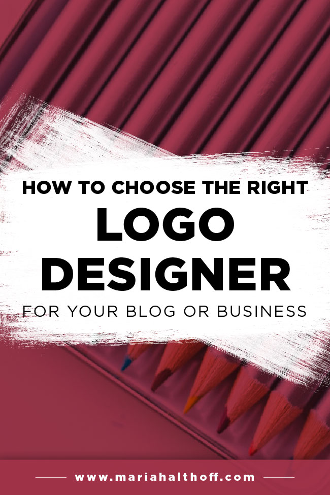 Choosing a logo designer can be a super overwhelming process. I'm sharing 5 ways to ensure you're making the best decision in choosing a graphic designer to design your logo to make this process painless. Click through to read how!