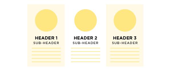 Proximity Graphic Design Principle