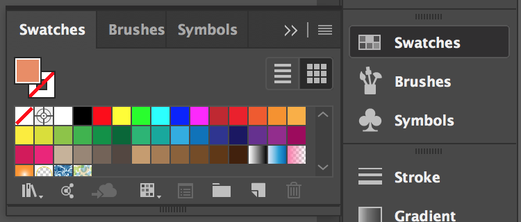 Swatches Panel – Illustrator Tools
