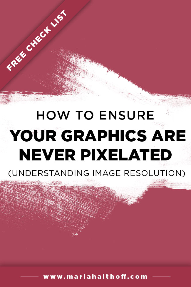 Make sure your graphics are never pixelated or blurry with these helpful tips. Plus you'll learn about image resolution, a practical part of graphic design.