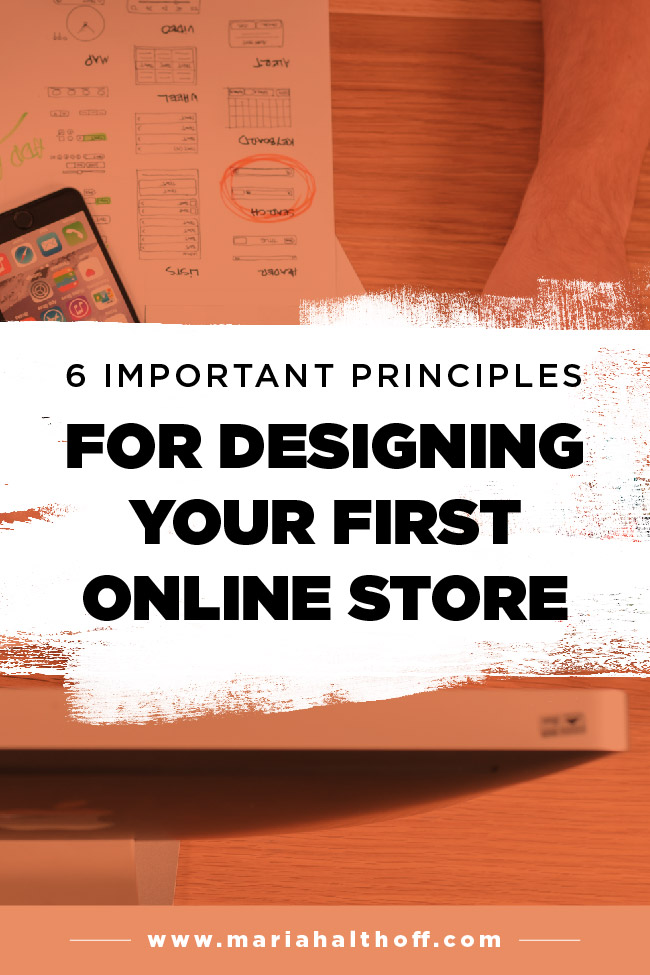 If you're designing your own e-commerce website, you do not want to miss this post! I'm spilling 6 principles you'll want to consider while you design your own website. Whether you're using Shopify, Squarespace, or Wordpress, this post is for you!