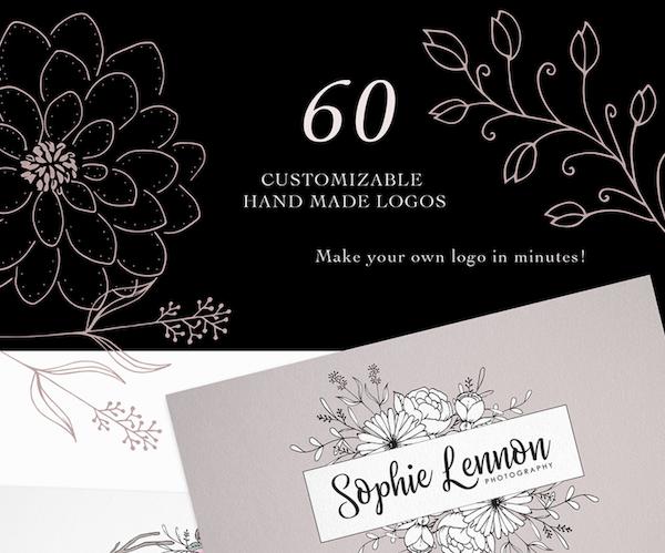 Customizable Hand Made Logos