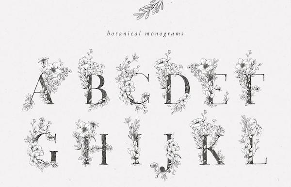 Botanical Monograms