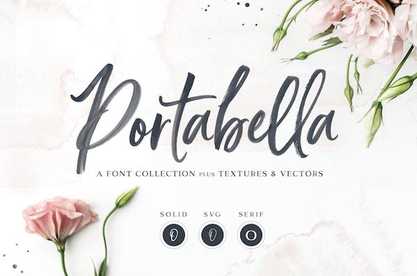 Portabella Brush Font