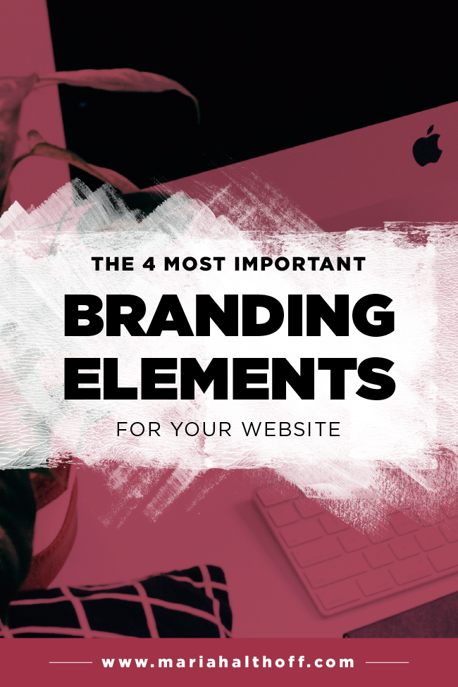 4 Most Important Branding Elements For Your Website