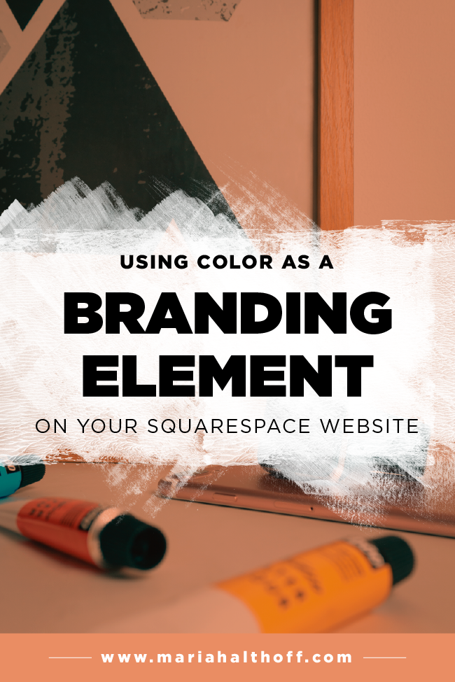 Using Color As A Branding Element On Your Squarespace Website