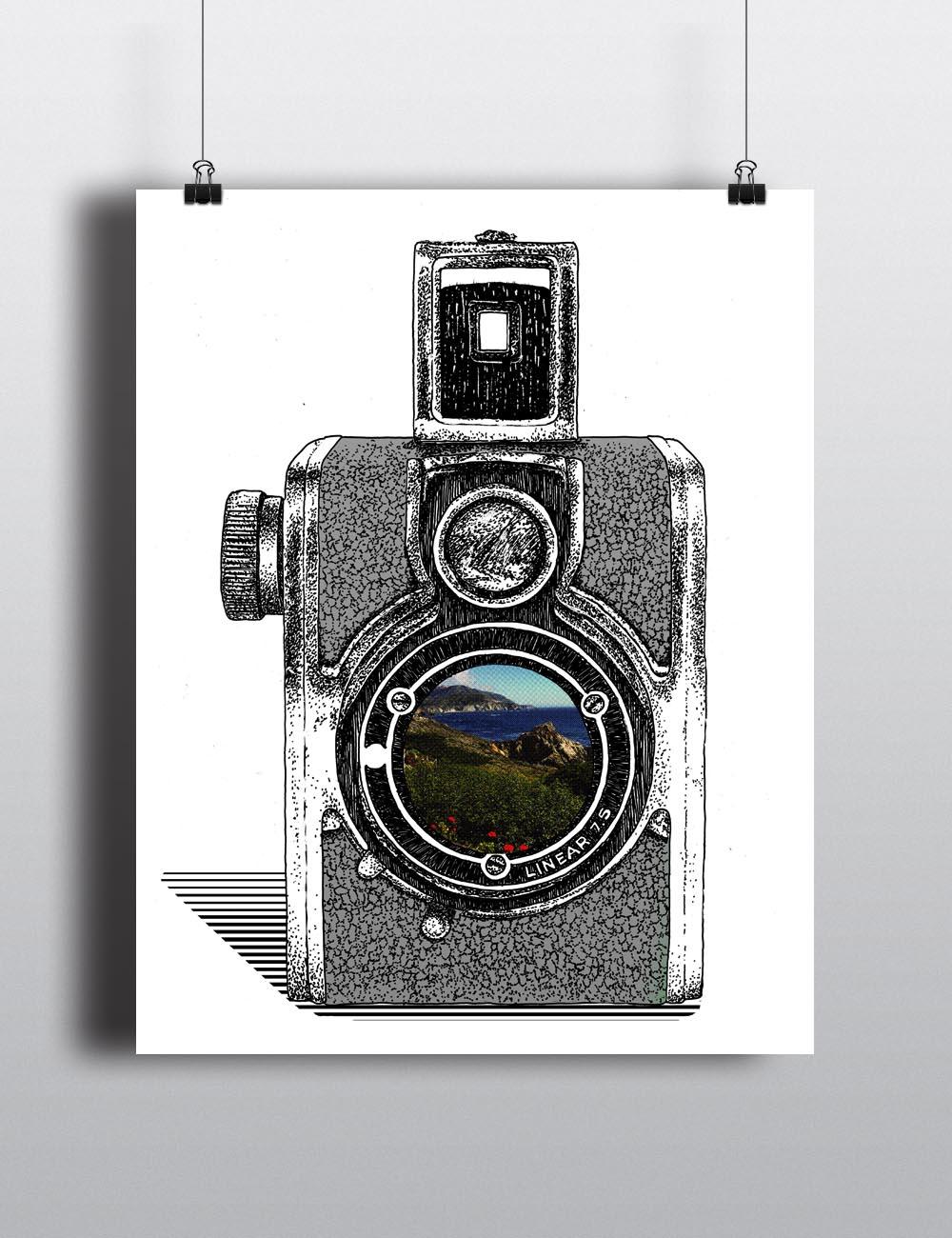 Big Sur Vintage Camera
