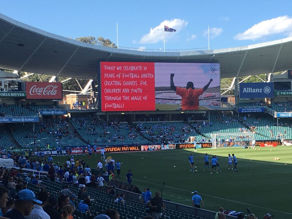 Sydney FC give Football United a shout-out!