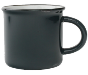 Tinware Mugs -no risk of cracking or chipping!