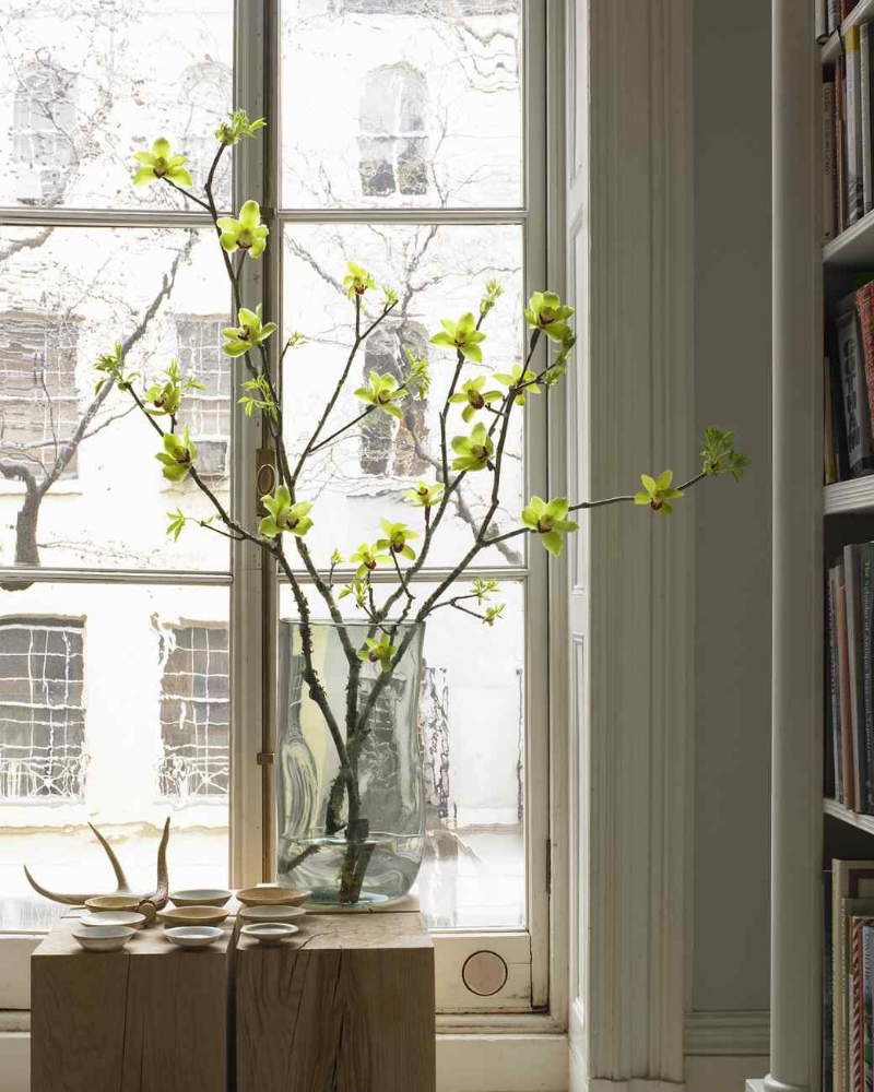 Winter Branches for Pewter Vase