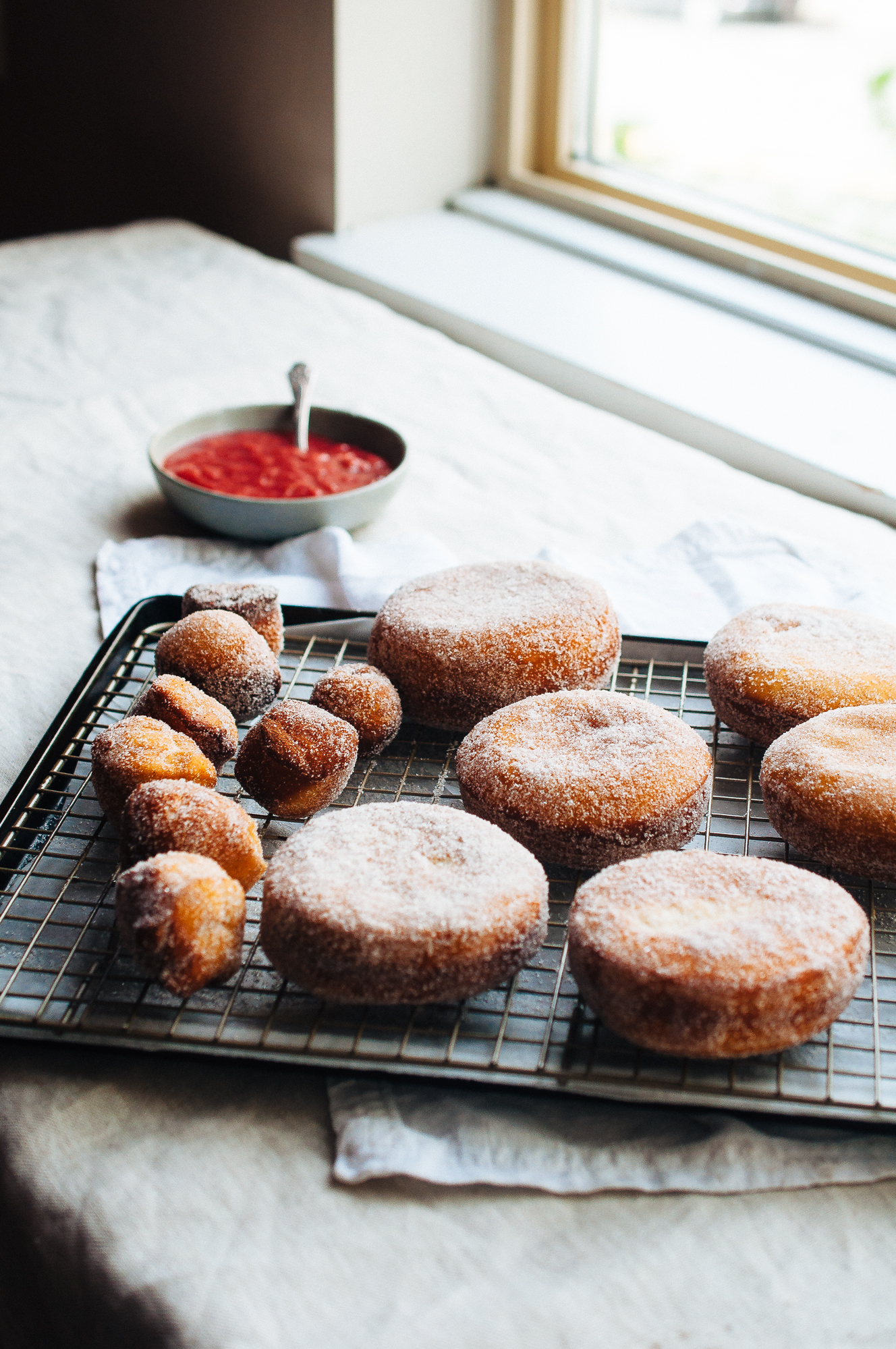 rhubarb strawberry doughnuts 10.jpg