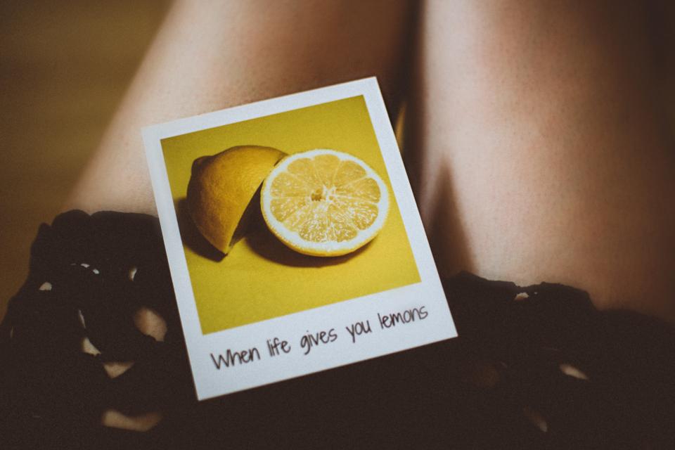 positivity, life gives lemons, fruit