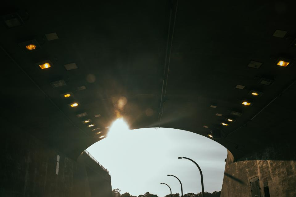 tunnel, bridge, travel