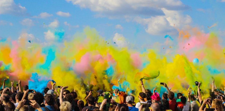 color run, chalk in air, color run columbia mo