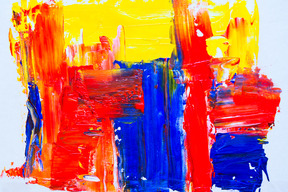 colors, red, yellow, blue, art